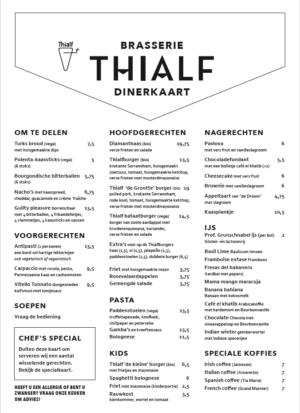 brasserie thialf